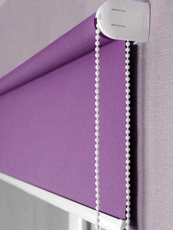 Kædetræksrullegardiner - Ensfarvede